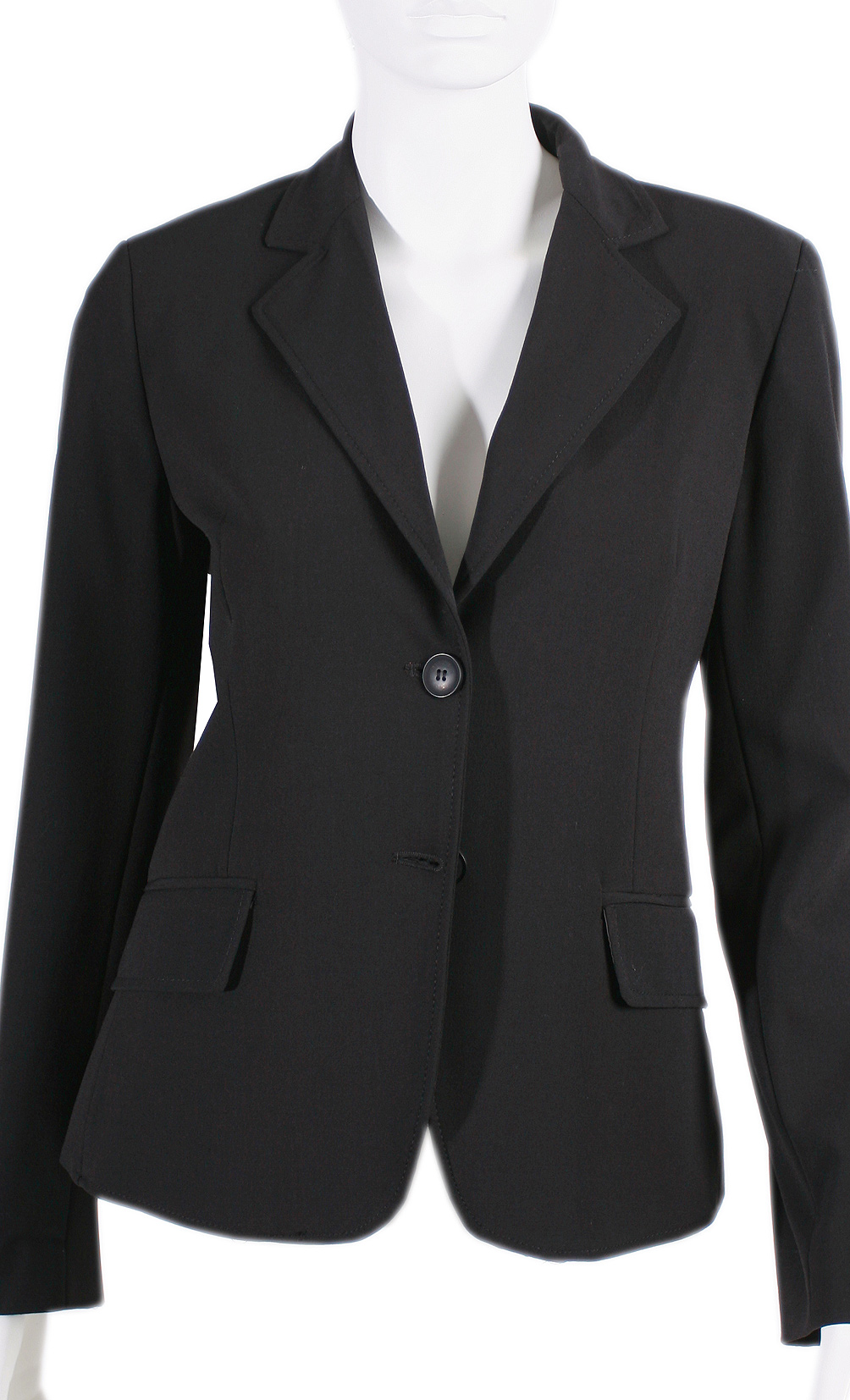 womens black suit jacket dress yy