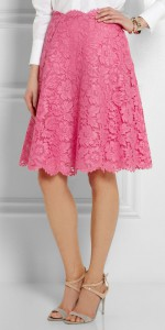 valentino pink lace