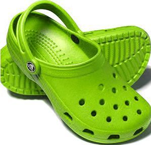 green crocs ugh